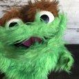 画像6: Vintage Knickerbocker Sesame Street Oscar Hand Puppet Doll (T408)