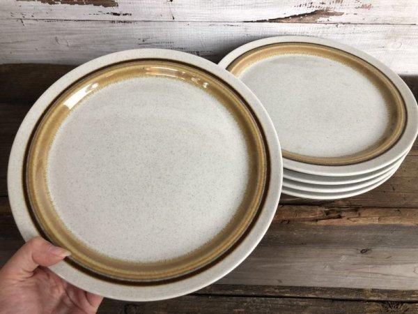 画像2: Vintage Haniwa Stone Ceramic Restaurant Ware 26.5cm (T405)
