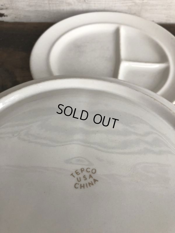 画像3: Vintage Tepco USA China Ceramic Restaurant Ware 27cm (T404)