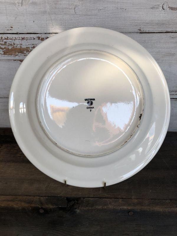 画像5: Vintage USA Ulitima China Ceramic Restaurant Ware 31cm (T408)