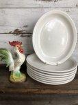 画像1: Vintage USA Heavy Ceramic Restaurant Ware (T409) (1)