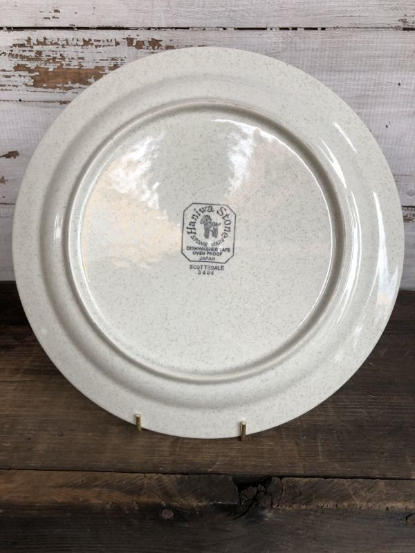 画像5: Vintage Haniwa Stone Ceramic Restaurant Ware 26.5cm (T405)