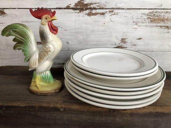 画像1: Vintage Buffalo China USA Ceramic Restaurant Ware 27cm (T406)