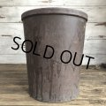 Vintage CUARANTEED VUL-COT Trash Can 36cm (T407)