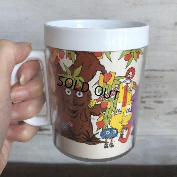 画像1: 70s Vintage McDonalds Thermo-Sew Mug Cup (T418)