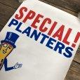 画像4: Vintage Planters Mr Peanut Store Display Poster (T440)