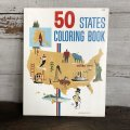 Vintage Planters Mr Peanut  50 STATES Coloring Book (T430)