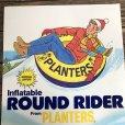画像6: Vintage Planters Mr Peanut Store Display Poster Round Rider (T438)