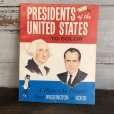 画像1: Vintage Planters Mr Peanut Presidents of the United States Coloring Book (T432) (1)