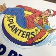 画像5: Vintage Planters Mr Peanut Store Display Poster Round Rider (T438)