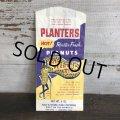 Vintage Planters Mr Peanut  Paper Bags 4oz (T426)