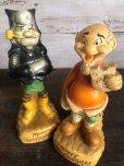 画像5: 60s Vintage Yokum Dogpatch Pappy & Mammy Statue Set (T448)