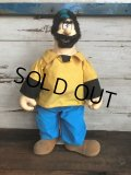 80s Vintage Popeye Brutus  Doll 52cm by Presents (T445)
