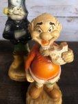 画像7: 60s Vintage Yokum Dogpatch Pappy & Mammy Statue Set (T448)