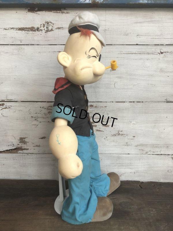 画像2: 80s Vintage Popeye Doll 47cm by Presents (T444)