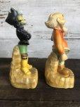 画像4: 60s Vintage Yokum Dogpatch Pappy & Mammy Statue Set (T448)
