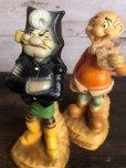 画像8: 60s Vintage Yokum Dogpatch Pappy & Mammy Statue Set (T448)