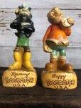 画像6: 60s Vintage Yokum Dogpatch Pappy & Mammy Statue Set (T448)