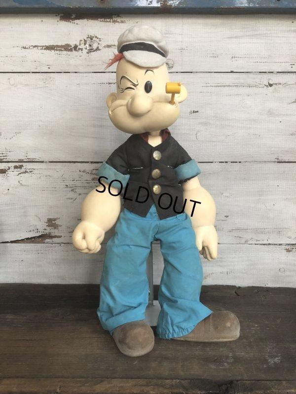 画像1: 80s Vintage Popeye Doll 47cm by Presents (T444)