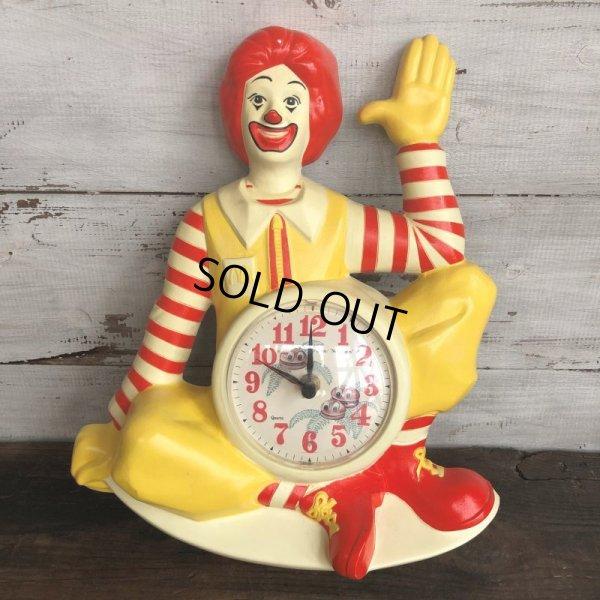 画像1: 【SALE】 80s Vintage McDonald's Wall Clock (T458)