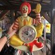 画像10: 【SALE】 80s Vintage McDonald's Wall Clock (T458)