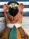 画像7: 50s Vintage Knickerbocker Yogi Bear BIG SIZE!! 66cm (T465)