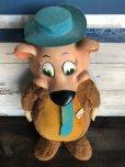 画像3: 50s Vintage Knickerbocker Yogi Bear BIG SIZE!! 66cm (T465)