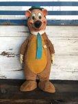 画像2: 50s Vintage Knickerbocker Yogi Bear BIG SIZE!! 66cm (T465) (2)