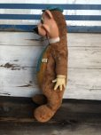 画像6: 50s Vintage Knickerbocker Yogi Bear BIG SIZE!! 66cm (T465)