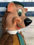 画像9: 50s Vintage Knickerbocker Yogi Bear BIG SIZE!! 66cm (T465)