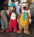 画像1: 50s Vintage Knickerbocker Yogi Bear BIG SIZE!! 66cm (T465) (1)
