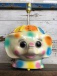 画像14: 70s Vintage Polka Dot Elephant Psychedelic Lamp (T468)