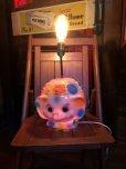 画像1: 70s Vintage Polka Dot Elephant Psychedelic Lamp (T468) (1)