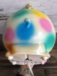 画像10: 70s Vintage Polka Dot Elephant Psychedelic Lamp (T468)