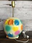 画像6: 70s Vintage Polka Dot Elephant Psychedelic Lamp (T468)