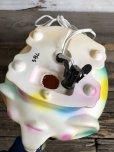 画像11: 70s Vintage Polka Dot Elephant Psychedelic Lamp (T468)