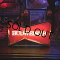 Vintage Anheuser Busch Budweiser Red Bowtie Store Display Light Sign (T475)