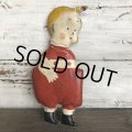 20s Antique Gasoline Alley Comic Strip Character Oil Cloth Doll (T478)