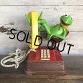 80s Vintage Telephone Kermit (T537)