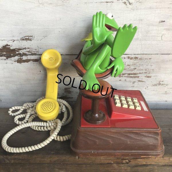 画像2: 80s Vintage Telephone Kermit (T537)