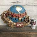 70s Vintage Schlitz Beer Globe Sign (T542)