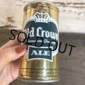 Vintage Beer Can Old Crown Ale (T576)