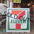 Vintage 7-ELEVEN Old Logo Store Sign (T531)