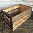 画像3: Vintage Wooden Fruits Crate Box BRIANT (T546)