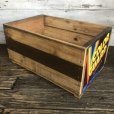 画像2: Vintage Wooden Fruits Crate Box COLOR GUARD (T547) (2)