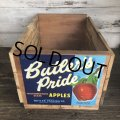 Vintage Wooden Fruits Crate Box Butler's Pride (T552)