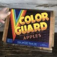 画像6: Vintage Wooden Fruits Crate Box COLOR GUARD (T547)