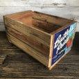 画像2: Vintage Wooden Fruits Crate Box Butler's Pride (T552) (2)