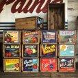 画像7: Vintage Wooden Fruits Crate Box BRIANT (T546)