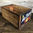 画像2: Vintage Wooden Fruits Crate Box My Treat (T553) (2)